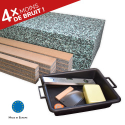 Acoustic insulation kit