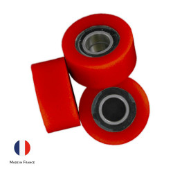 Roulements à Billes Garnis polyurethane polymere caoutchouc pu solution solutions elastomere elastomeres made in France