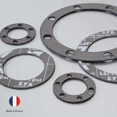 LATTYGRAF EFA feuille a joint découpe jet eau made in France Solutions Elastomeres