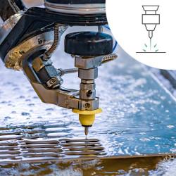 Découpe jet d'eau Outillage Solutions Elastomeres sur mesure
