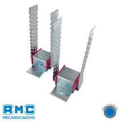 SUSPENTES SE142 Anti vibratoire vibrantes murs faux plafonds tuyauteries machines Solutions Elastomères